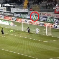 Late contender for worst open goal miss of 2013