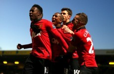 Welbeck comes off the bench to keep United on winning streak