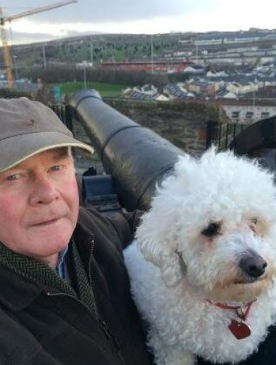 Your Martin McGuinness And His Dog Buttons Selfie Of The Day
