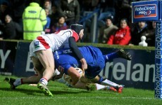 VIDEO: Superb skill from Luke Fitzgerald tees up Jordi Murphy try