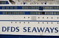 Two men arrested after fire breaks out on ferry in North Sea