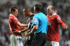 "Ferguson: Ref ""let himself down"" by booking Hernandez"