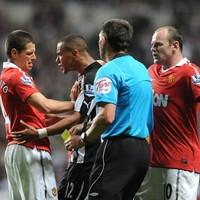 """Ferguson: Ref """"let himself down"""" by booking Hernandez"""