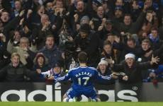Eden Hazard curls in a cracker as Chelsea beat Liverpool