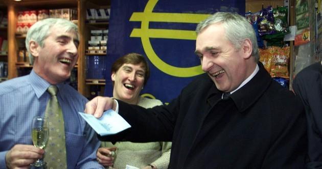 Check behind the couch, there's still €231.3m worth of Punt hanging around
