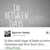 7 people who can't handle the time between Christmas and New Year's Eve