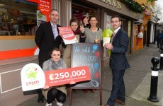 Kerry man collects €250,000 Lotto win