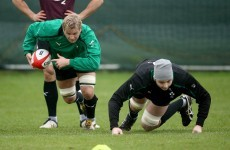 Better news for Ireland as Chris Henry and Iain Henderson near return