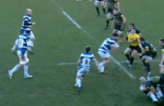 Rugby referee sent flying by 18-stone Bath hooker