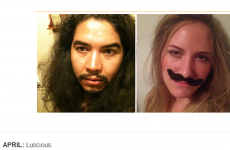 Woman recreates the selfies of the man who stole her phone