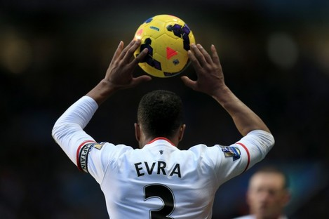 "Evra: ""I don't want to talk about the title."""