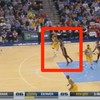 This LeBron James full-court tap pass is pretty class