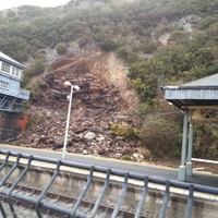 Waterford train station to remain closed for days after landslide