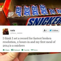 10 people who have already broken their New Year's resolutions