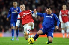 Arsenal leave it late but edge out Cardiff to stay top
