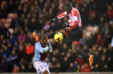 Villa back on track with win at Sunderland