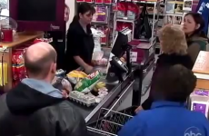 Watch as kind strangers help out mother unable to pay for groceries