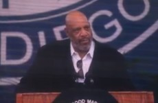 Watch the moving speech James Avery gave graduating students in 2012