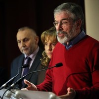 """""""This is a compromise"""" - Adams urges parties to accept Haass agreement"""
