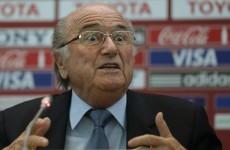 Sepp Blatter urges referee action on diving