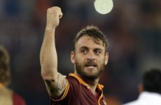 De Rossi: Joining Manchester United would have been 'suicide'