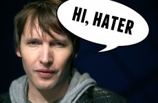James Blunt spent the holiday season owning haters on Twitter