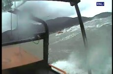 Video: Lifeboat launches search in rough seas - but it was a hoax call