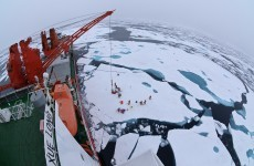 Chinese ship used in Antarctic rescue now stuck in ice