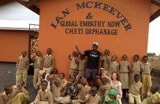 Orphanage in Ian McKeever's name opens in Tanzania