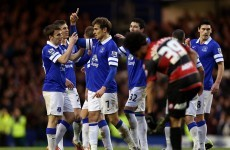 GIF: Another class Coleman goal helps Everton into fourth round