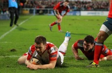 Cave hoping for more tries in front of 'special' Ravenhill crowd