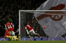 Arsenal enjoy FA Cup derby win over Spurs