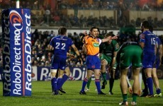 'We're Connacht and we just deal with that' – Pat Lam on refereeing calls