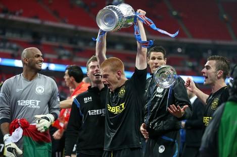 Wigan were FA Cup winners in 2013.