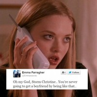 Irish people are taking revenge on Storm Christine by being Mean Girls