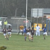 Cracking volley to the net by Wicklow's Dean Odlum lights up O'Byrne Cup clash