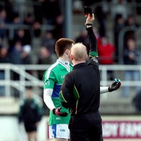 Here's the 19 GAA players who were shown black cards over the weekend