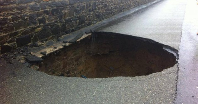 Biggest Pothole Ever Pic of the Day