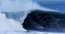 Stormy weather makes for spectacular surfing in Mullaghmore
