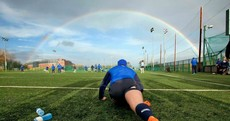 Snapshot: Who's the Leinster golden boy under the rainbow?