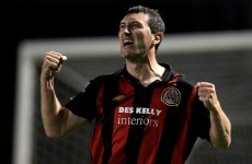 Record-chasing Byrne returns to Bohemians