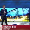 CRINGE! Director Michael Bay flees the stage after teleprompter fail