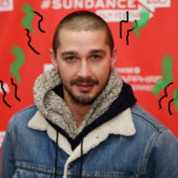 Brad Pitt is grossed out by Shia LaBeouf's horrible smell... it's The Dredge