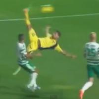 VIDEO: Israeli striker scores with stupendous bicycle kick