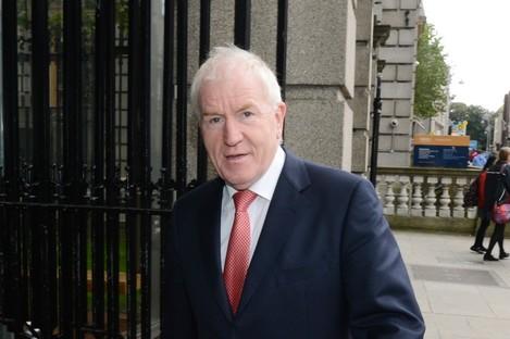 Jimmy Deenihan at Leinster House