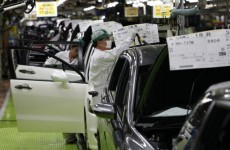 Japanese car manufacturers check products for radiation to allay foreign buyers' fears