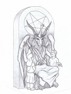 This group want to build a large Satan statue in a US city