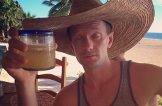 Neil Patrick Harris challenged himself to a drinking contest and photographed the results