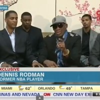 VIDEO: Dennis Rodman completely loses it with CNN reporter