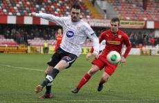 Eoin Bradley to stick with soccer and miss Derry's league campaign